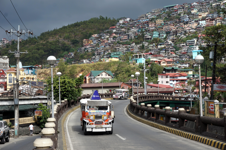 jeepney baguio philippines