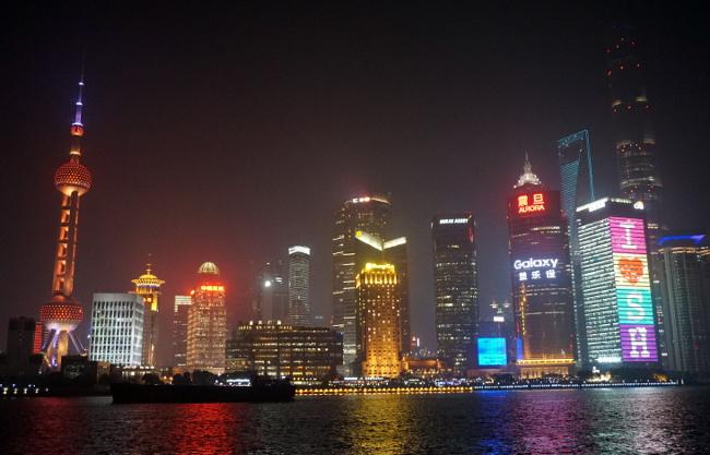 shangai lumières