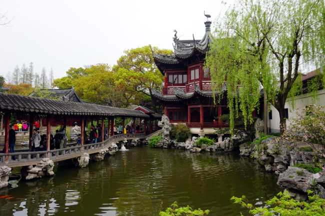 jardins Yuyuan shangai chine