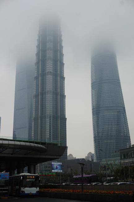 shangai polution smog chine