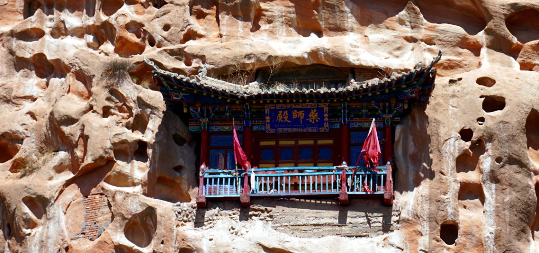 grottes mati si zhangye chine