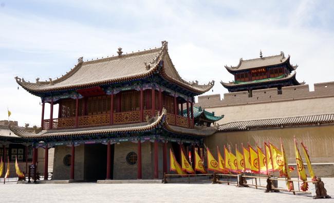 fort jiayuguan chine