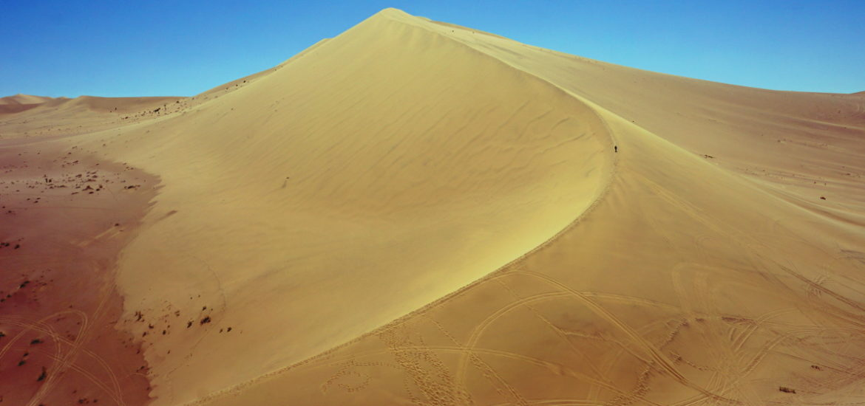 dunes de sable dunhuang chine