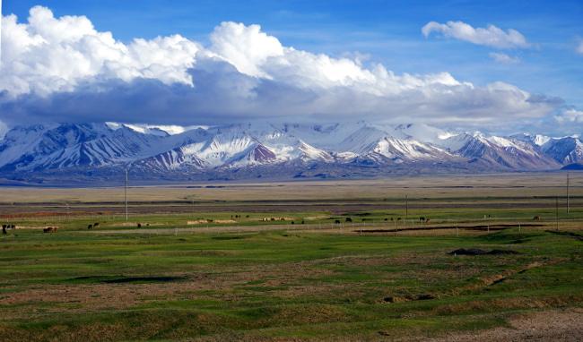 Sary Tash Kirghizstan