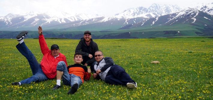 arslanbob à bishkek kirghizstan