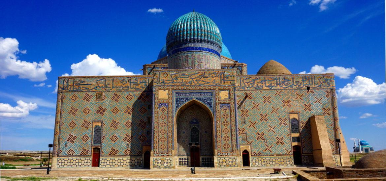 mausolée turkestan kazakhstan