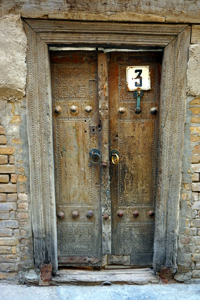old door bukhara