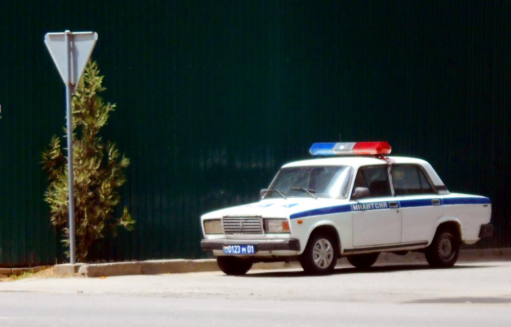 dushambe tadjikistan police