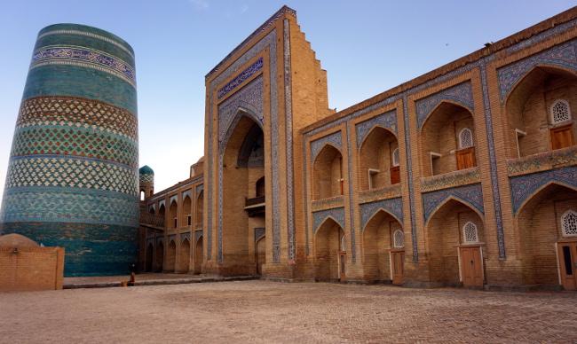 kalta minor khiva ouzbékistan