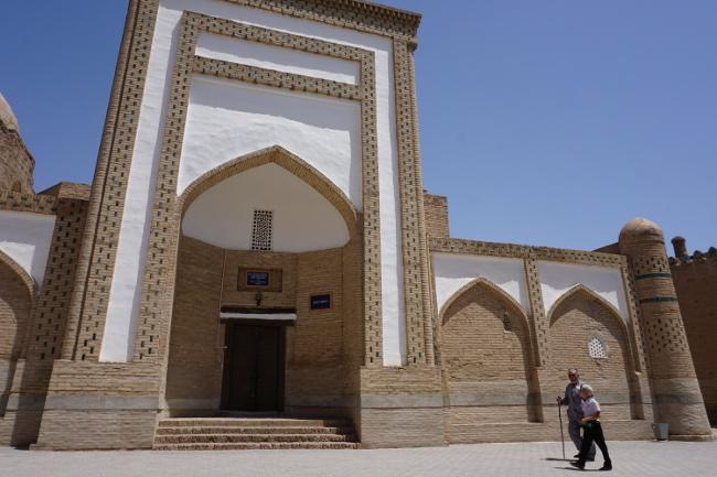 vieil homme khiva ouzbékistan