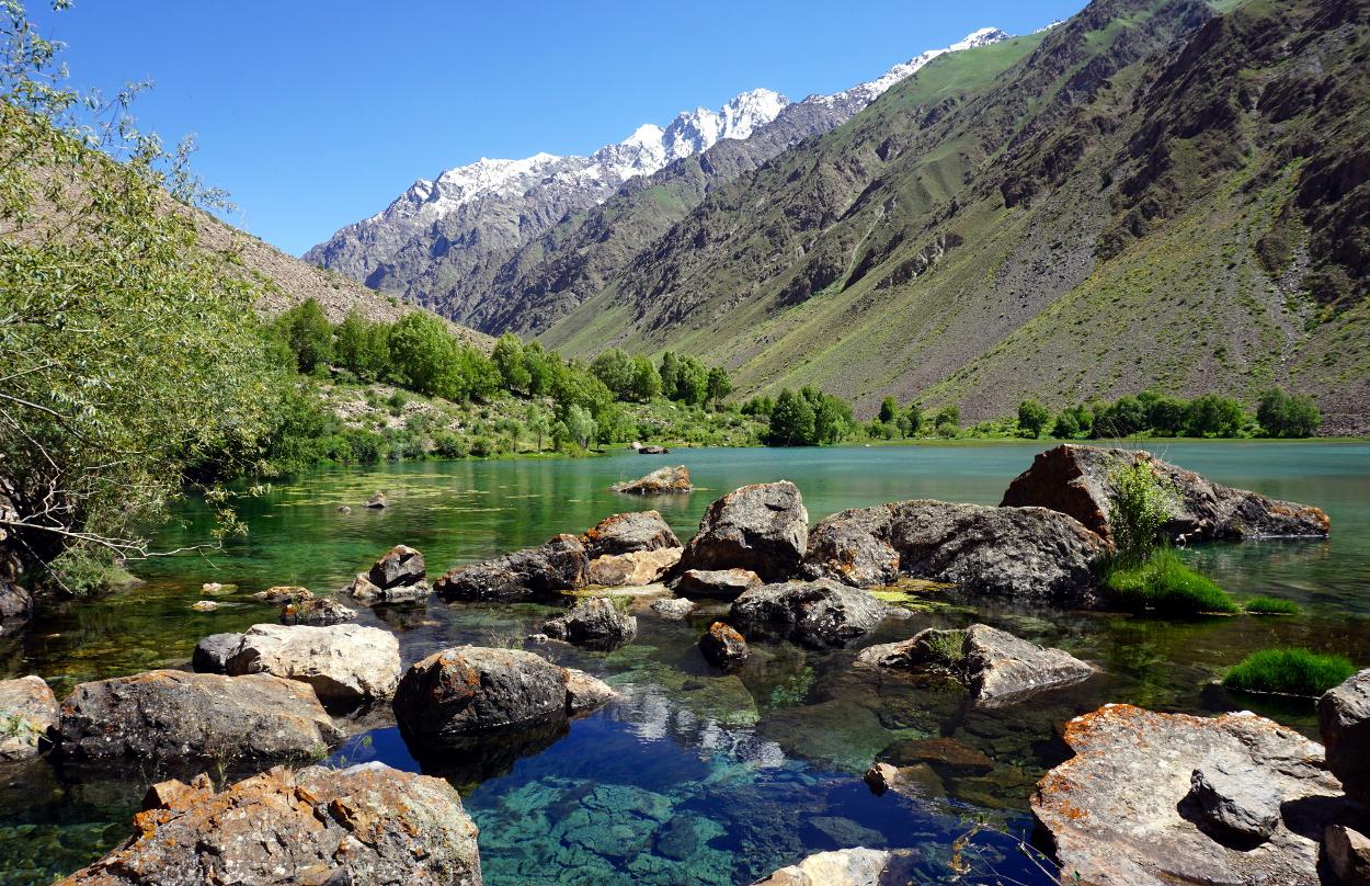valee jizeu tadjikistan route pamir