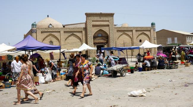 marché khiva ouzbékistan