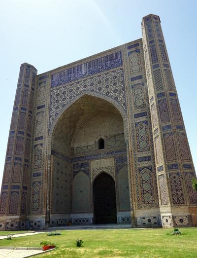 mosquee bibi-khanym samarkand ouzbékistan