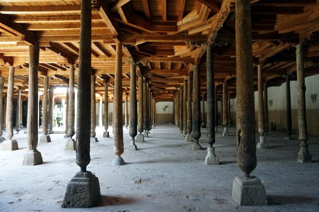 mosquée juma khiva ouzbékistan