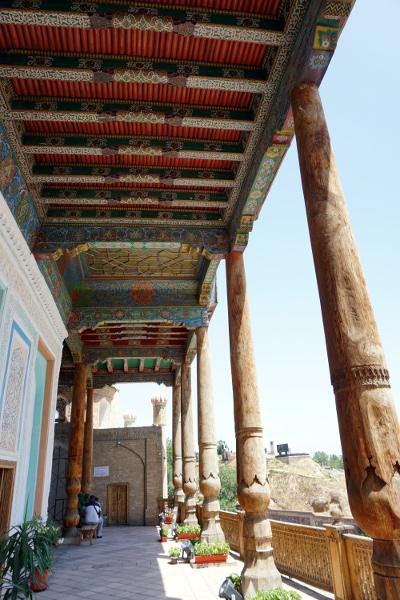 mosquée samarkand ouzbékistan