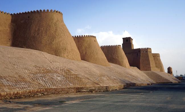 muraille khiva ouzbékistan