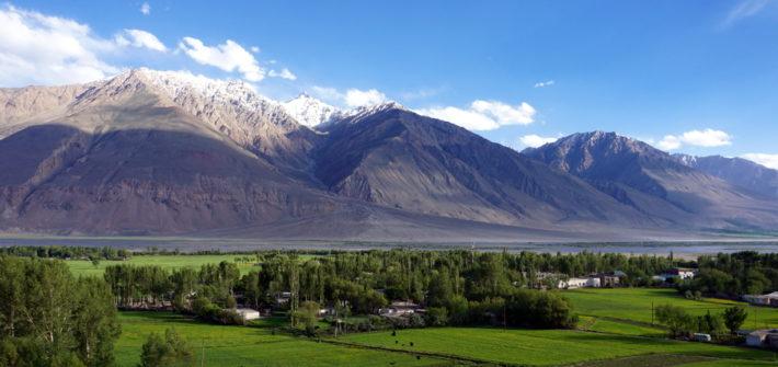 khorog tadjikistan pamir wakhan
