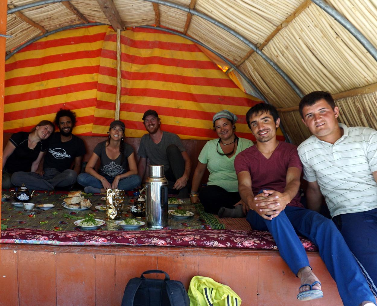 valée jizeu tadjikistan pamir