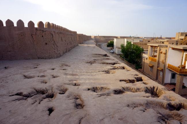 remparts khiva ouzbékistan