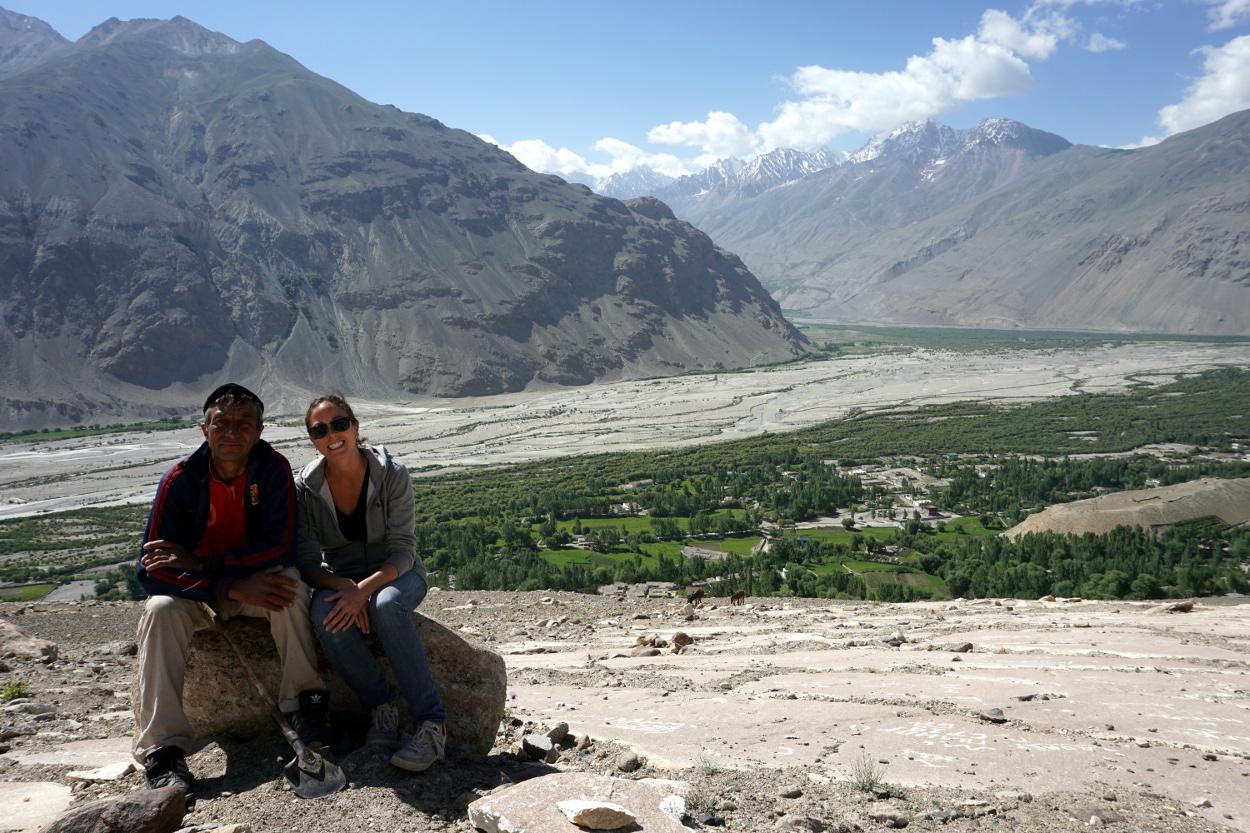 pétroglyphes langar tadjikistan pamir whakan