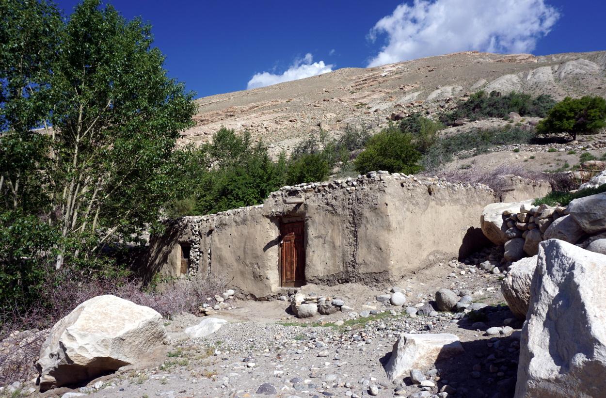 route pamir tadjikistan maison langar