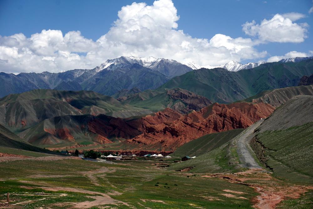 route pamir frontière Kirghizstan tadjikistan