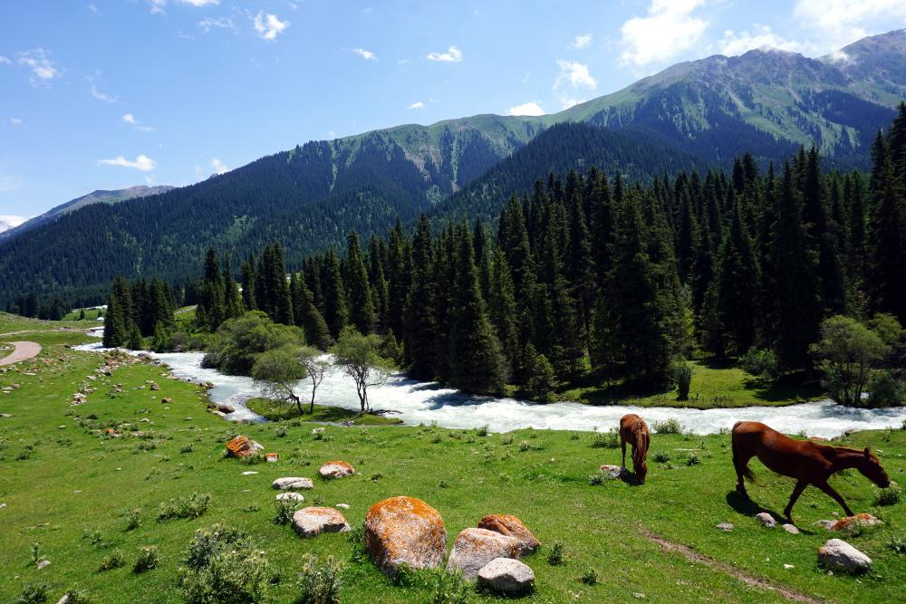 Kirghizstan karakol Jeti-Öghüz