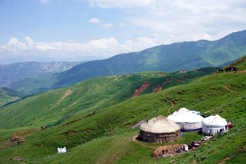 chygyrchyk Kirghizstan Buzkashi yourtes