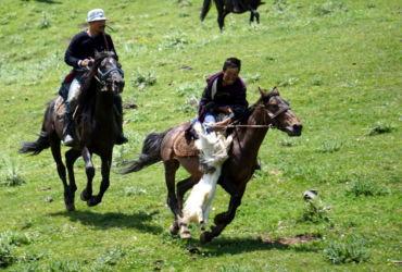 chygyrchyk Kirghizstan Buzkashi