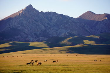 lac song kol Kirghizstan 2
