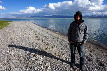 lac song kol Kirghizstan