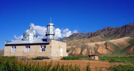 route lac song kol Kirghizstan 2